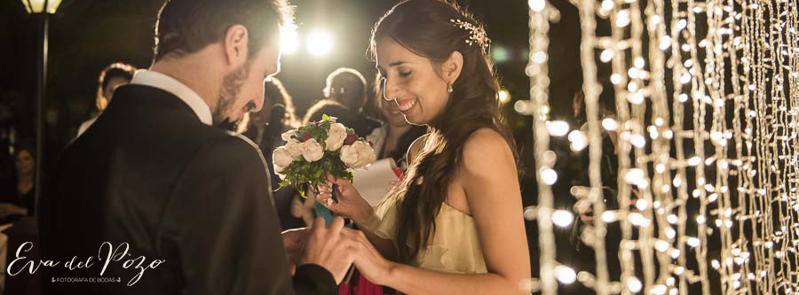 Casamiento en Finca Madero, casamiento de noche al aire libre