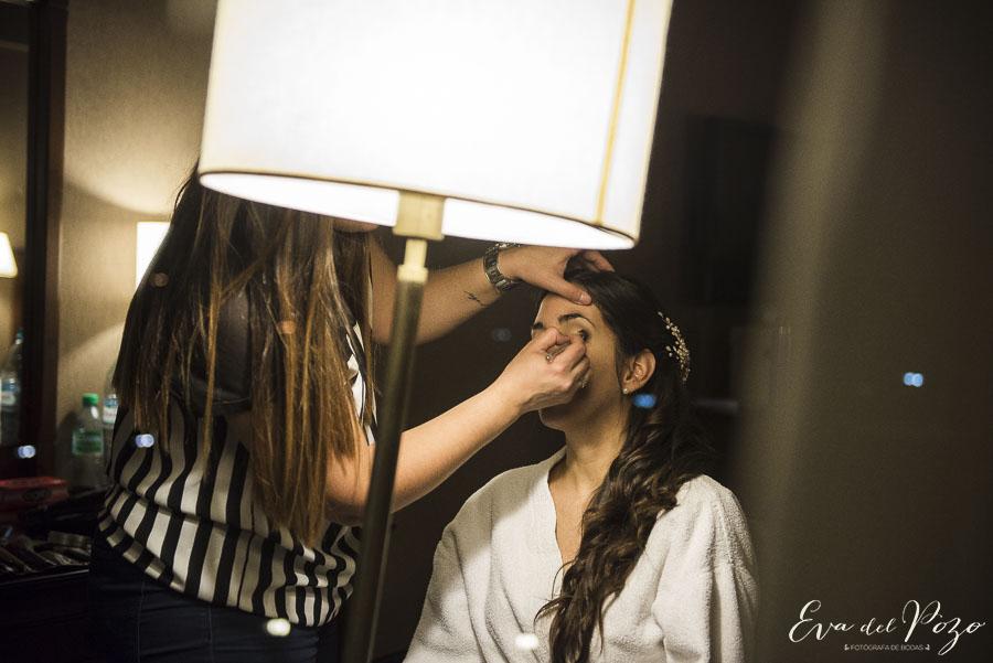 Preparativos de la novia, Hotel Howard Johnson Pilar