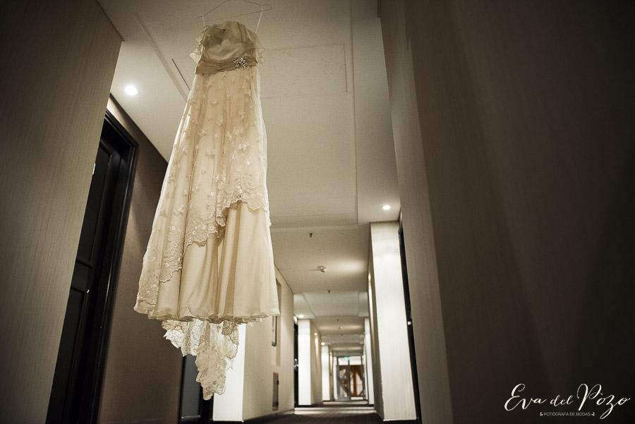 Preparativos de la novia, vestido, Hotel Howard Johnson Pilar 5