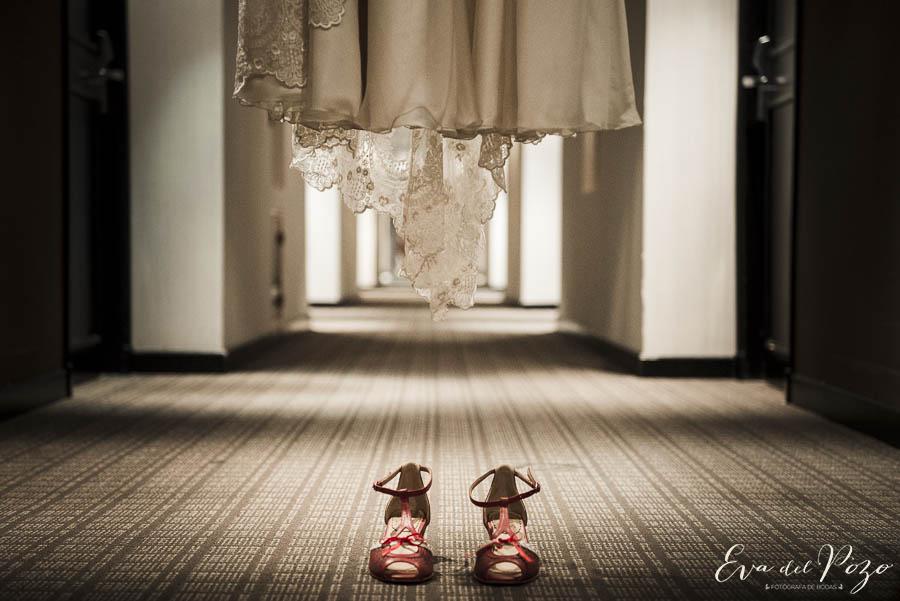 Preparativos de la novia, vestido, Hotel Howard Johnson Pilar 6